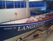 Classic Racing Gig rowing boats re-named