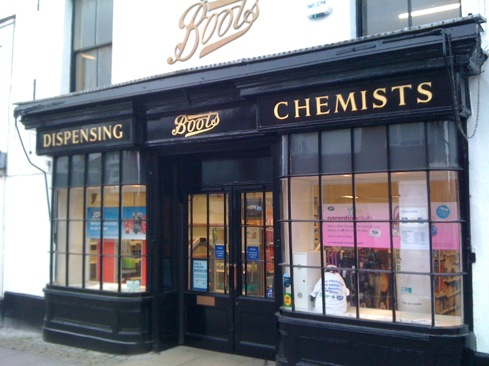 Historic Boots Chemists Restored Shop Front Osborne Signs