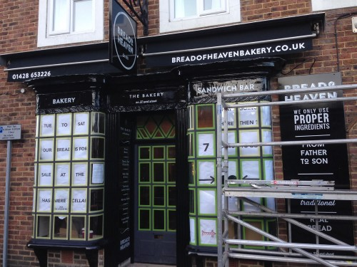 Bread of Heaven Bakery - shop front