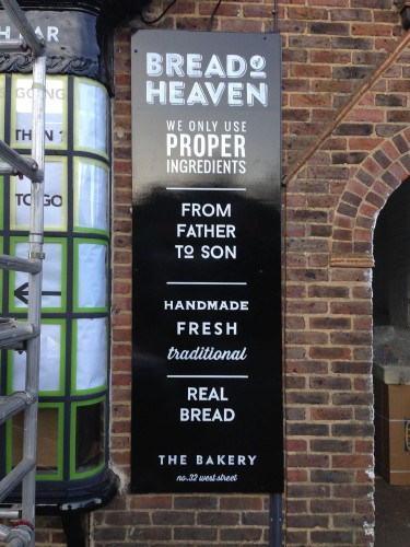 Bread of Heaven Bakery - signboard