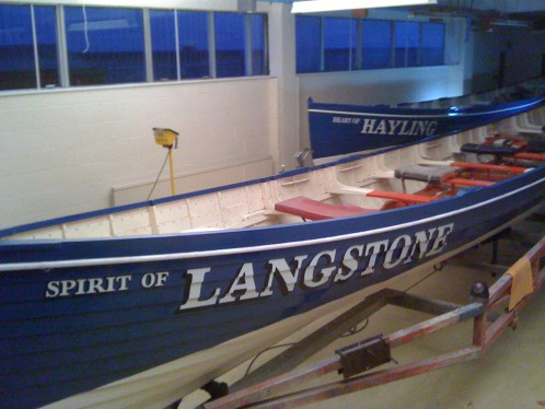 Hand painted signwritten boat names