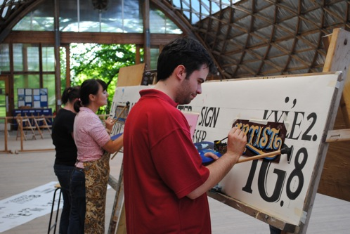 Painting and Decorating, Sign Writing Apprenticeship Applicants
