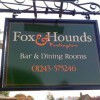 contemporary hand painted pub sign design