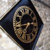 Midhurst Church gold leaf clockface restoration