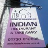 Indian takeaway hanging sign