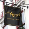 Projecting sign for The Angel Hotel, Midhurst, Sussex