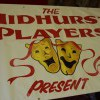 Midhurst players painted banner