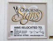 New Workshop premises for Osborne Signs