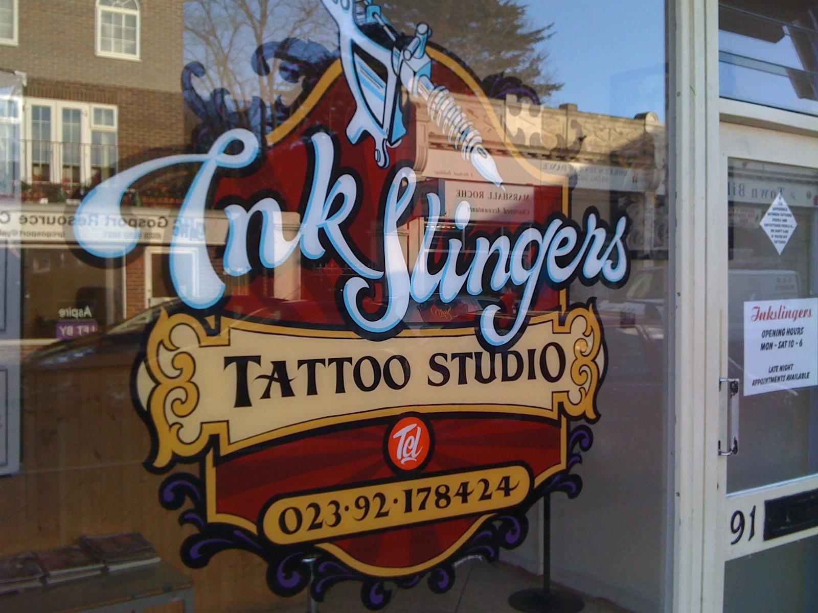 Tattoo anyone osborne signs for Maryland tattoo shops